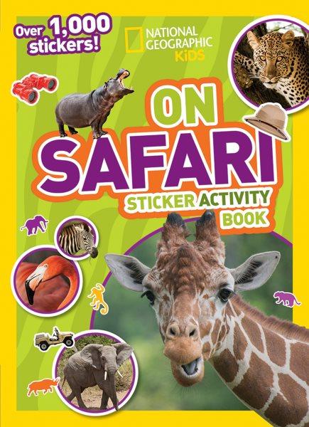 Kids on Safari Sticker Activity Book