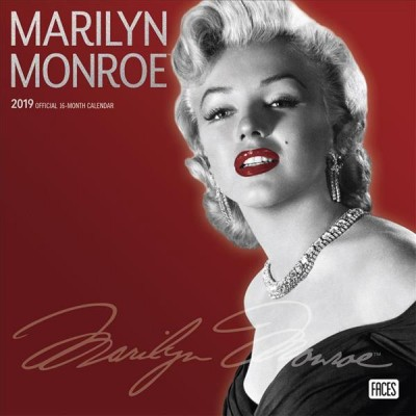 Marilyn Monroe 2019 Calendar(Wall)