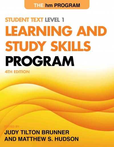 The Hm Learning and Study Skills Program, Level 1