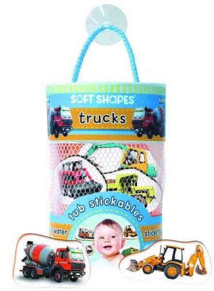 Soft Shapes Tub Stickables: Trucks