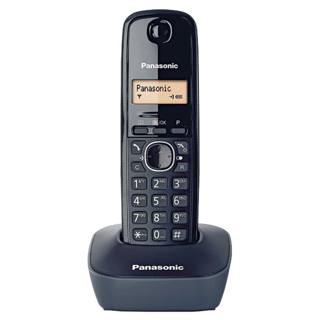 【公司貨】國際牌 DECT 數位無線電話 KX-TG1611TW(五色可選)