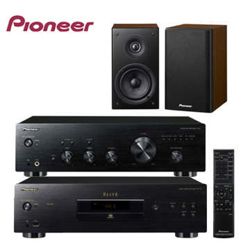 PIONEER 先鋒原音重現2聲道組合(A-20+PD-10+S-CN301-LR)