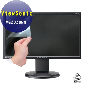 ViewSonic VG2028wm 20型 20吋寬 螢幕貼 - EZstick魔幻靜電保護貼