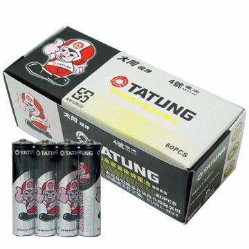 TATUNG 大同 環保超高容量碳鋅電池4號AAA(一盒60入)