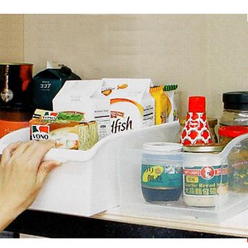 《魔法廚房》廚櫃整理收納盒-附輪(6入)