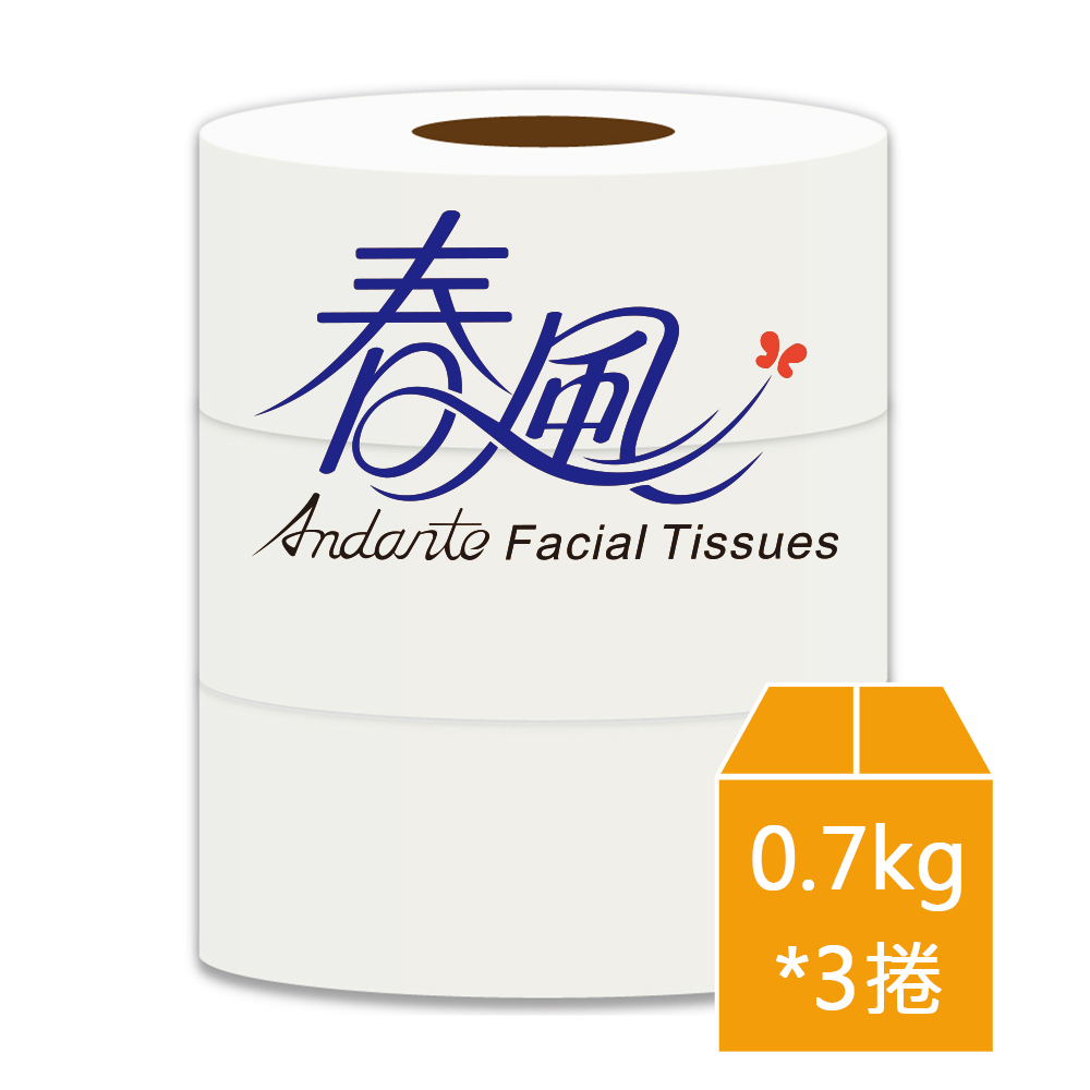 《春風》大捲筒衛生紙(0.7 kg*3捲)