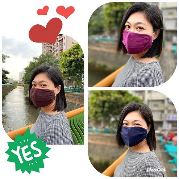 台灣製純棉3D立體口罩套8入/組(男/女/兒童皆可使用)