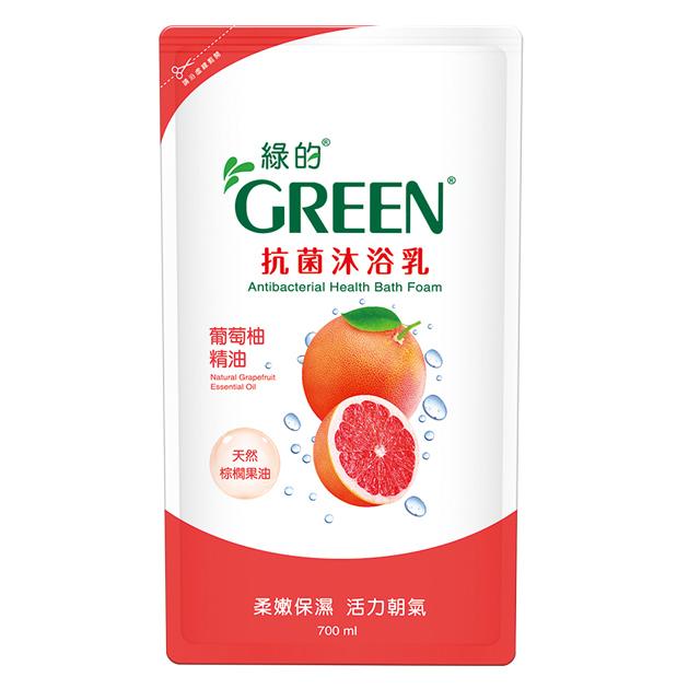 綠的GREEN 抗菌沐浴乳-葡萄柚精油700ml*1
