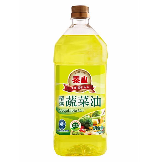 《泰山》精選蔬菜油(1.5 L)