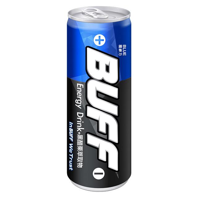 泰山-BUFF能量飲料(精神力-藍)-250mlx24入/箱