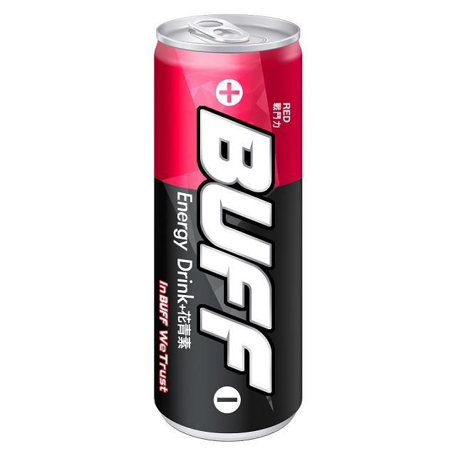 泰山-BUFF能量飲料(戰鬥力-紅)-250mlx24入/箱