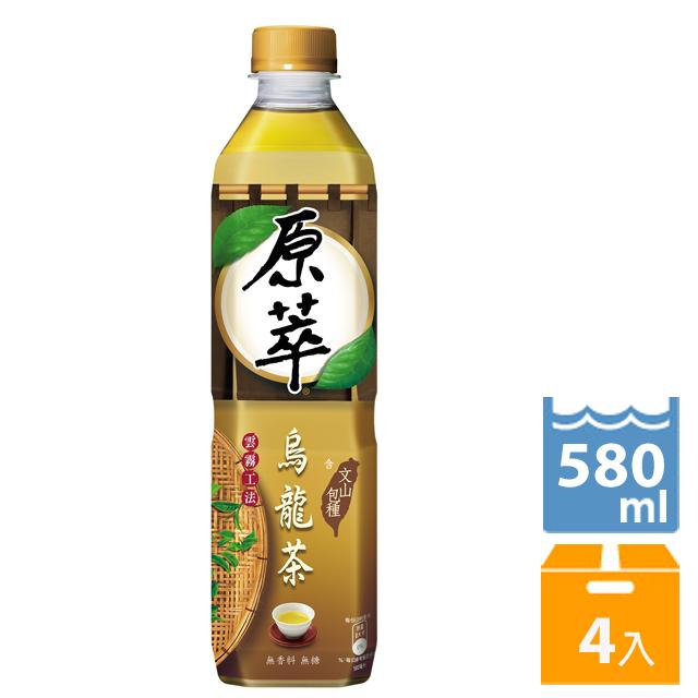 原萃 烏龍茶 (含文山包種) 580ml(4入)
