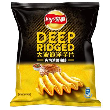 樂事大波浪 炙燒濃醬豬排(40g/包)