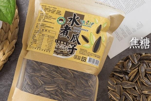 台灣上青 焦糖口味水煮瓜子500g