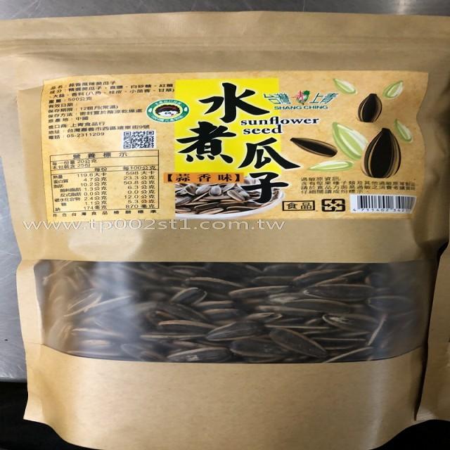 台灣上青-水煮瓜子500G(蒜香味)