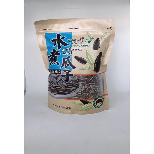 台灣上青-水煮瓜子500G(奶香味)
