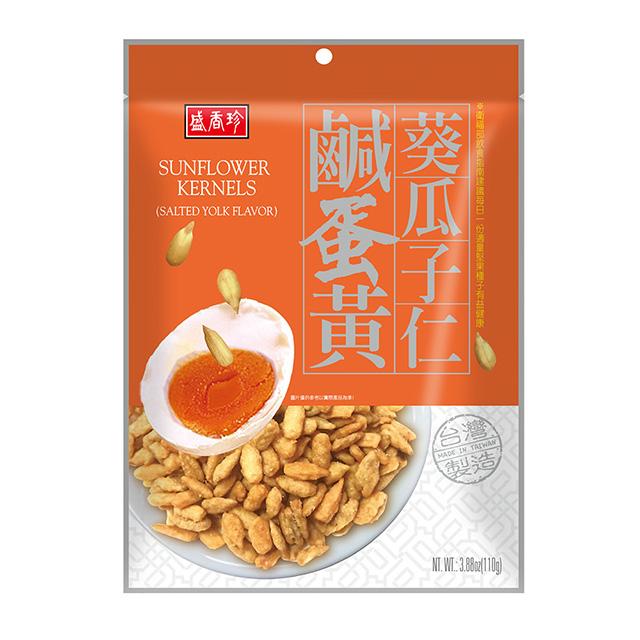 盛香珍 鹹蛋黃葵瓜子仁110g