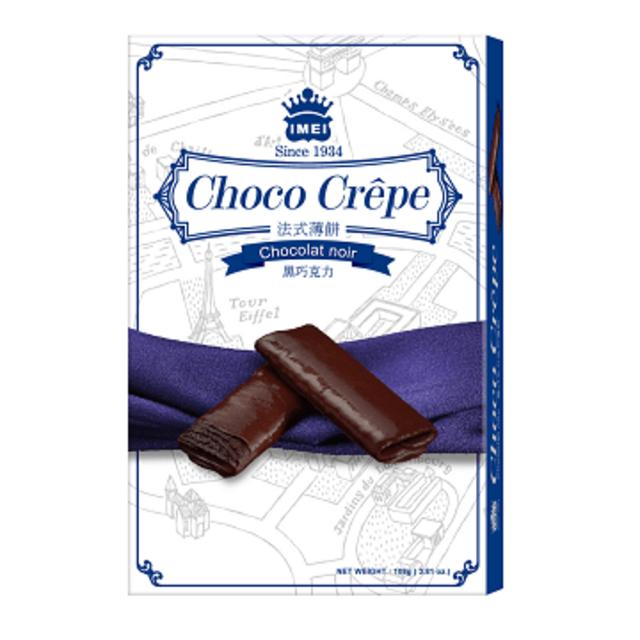 義美法式薄餅 (黑巧克力)(108g/盒) x2盒