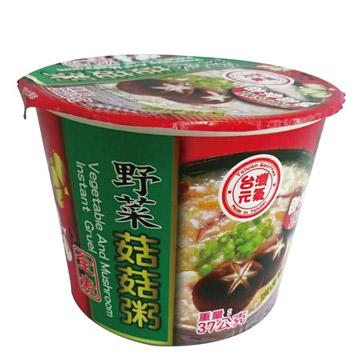 《臺旺》野菜菇菇粥 (37公克/杯)