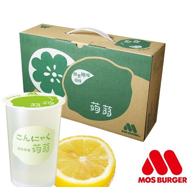 MOS摩斯漢堡 蜂蜜檸檬蒟蒻(15杯/箱)
