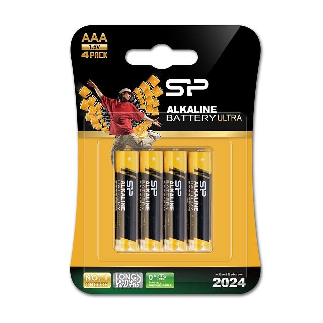 SP廣穎 鹼性電池 4號 4入