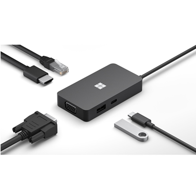 微軟 USB-C旅用擴充基座