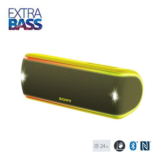 SONY 可攜式藍牙喇叭 SRS-XB31 黃