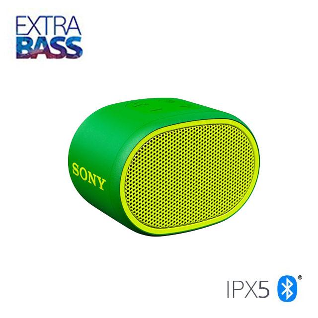 SONY 可攜式藍牙喇叭 SRS-XB01 綠