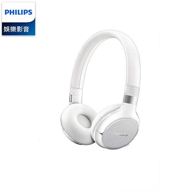 PHILIPS 飛利浦 無線藍牙耳罩式耳機 SHB9250WT
