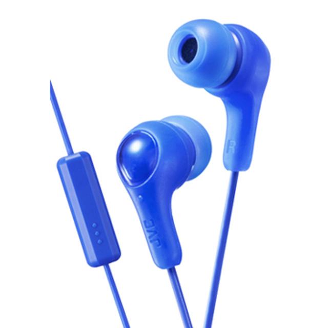 JVC HA-FX7M繽紛果凍系入耳式耳機(附麥克風)-海洋藍
