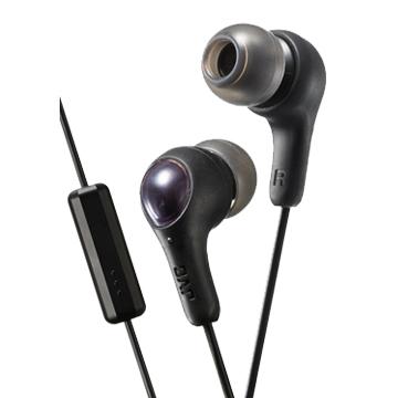 JVC HA-FX7M繽紛果凍系入耳式耳機(附麥克風)-武士黑
