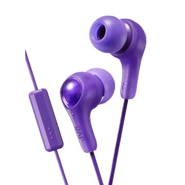 JVC HA-FX7M繽紛果凍系入耳式耳機(附麥克風)-魔幻紫