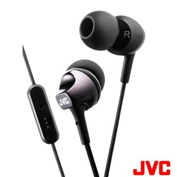 JVC FR325入耳式耳機-騎士黑(三色/麥克風)