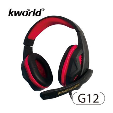 廣寰頭戴電競耳麥G12
