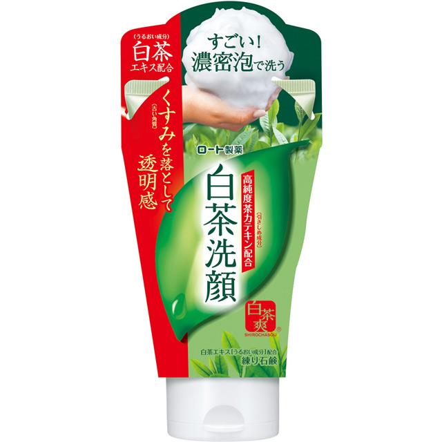 白茶爽 白茶多酚洗顏皂霜 120g