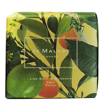 《Jo Malone》 青檬,羅勒&柑橘沐浴香皂(100g) (限量壁畫包裝版)