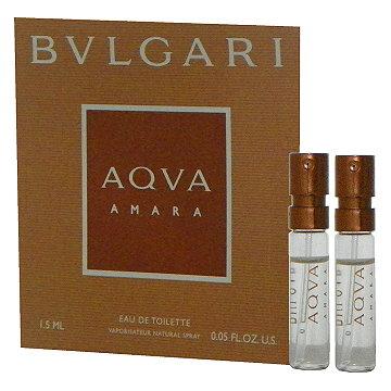 Bvlgari Aqva Amara 豔陽水能量淡香水 1.5ml x 2