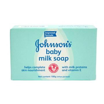 Johnson's嬰兒潤膚香皂(牛奶)100g