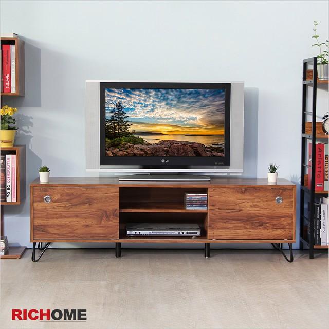 【RICHOME】威靈頓5呎電視櫃