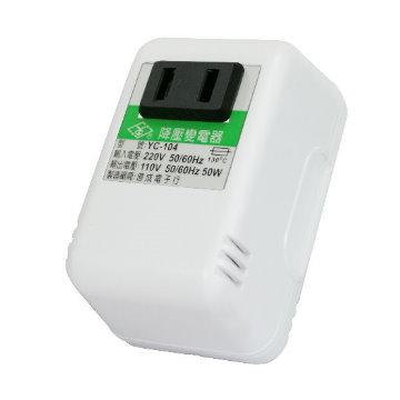 KINYO 220V變110V電源降壓器YC104