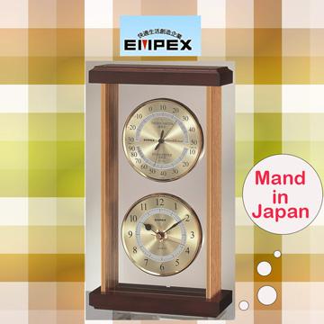 日本EMPEX雅仕時刻溫濕度計EX-742
