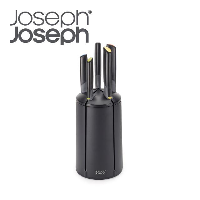 Joseph Joseph 好收納不沾桌不鏽鋼刀具組(五入)