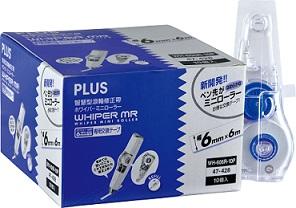 PLUS【MiniRoller】智慧型修正替帶量販包WH-606R-10P