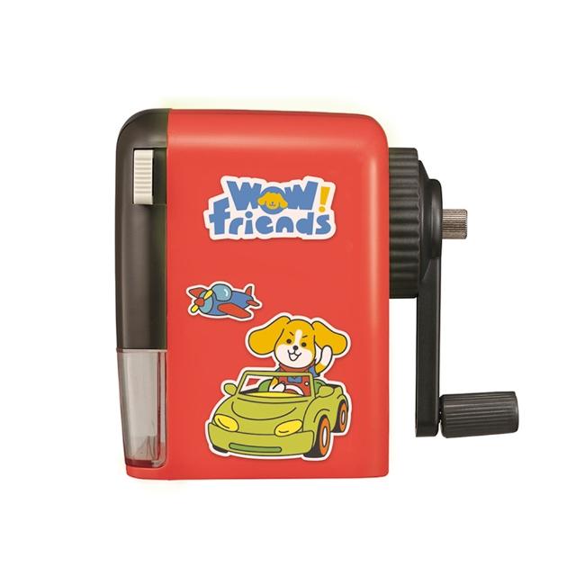 【KW-triO】愛心熊通用削鉛筆機(紅)