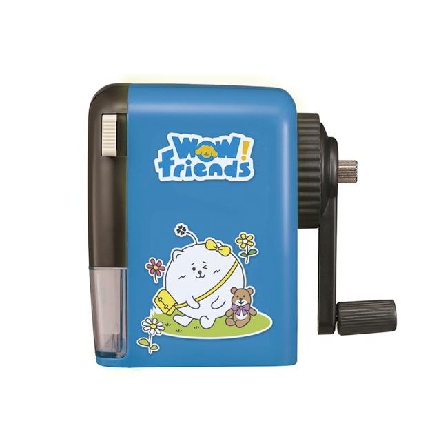 【KW-triO】愛心熊通用削鉛筆機(藍)