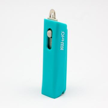 【KW-triO】NO.10 口袋型訂書機(附除針器)-藍