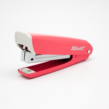 【KW-triO】N0.3 時尚站立式釘書機(塑膠把)-紅
