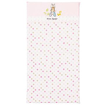 【奇哥】花園比得兔乳膠床墊-粉紅