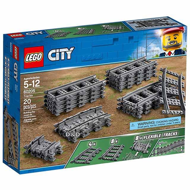 樂高積木 LEGO《 LT60205 》2018年 City 城市系列 - 軌道和彎道