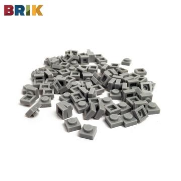 美國BRIK 積木包 (淺灰色)